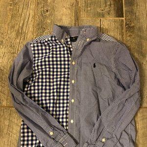 RALPH LAUREN button down shirt Size L